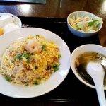 Daimonshuka - ランチメニューのひとつ「炒飯」700円也。税込。