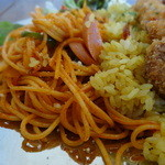 パタタ食堂 - トルコライスのナポリタンアップ