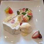 ボンポアン・フィル - 料理写真:デザート盛り合わせ