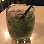SUZU CAFE - キャプテンモルガンモヒート⁉️ スパイスドラムなので香りが違います(^^