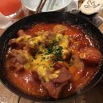 マルシェ・バトン - スパイシーチキン 甘辛トマトソースが絶妙!
