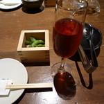 豆腐料理 空野 - 井筒コンコード ロゼ 1G、つきだし