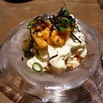 豆腐料理 空野 - 自家製湯葉と生うに
