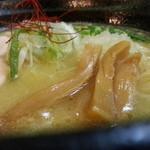麺屋壱の介 - 濃厚鶏白湯そば
