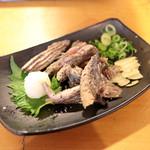 明神丸 - 藁焼き 鰹のハランボ (440円) '15 2月上旬