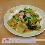 安達太良サービスエリア(上り線) レストラン・スナックコーナー - 五目焼そば 1,008円
