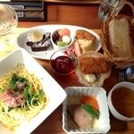 Grano - 料理写真:よくばりプレートランチ