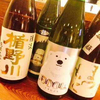 おすすめの日本酒、随時入荷中!