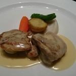 35837945 - 鶏モモ肉のフリカッセ