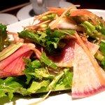 コラーゲン豚しゃぶの店 黒豚の桜蔵 - 能登野菜の彩りサラダ