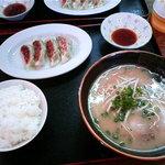 ラーメン専門福太郎 - ぎょうざ定食