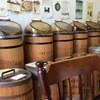 Nakaharakohimameten - 内観写真:樽の上に各種珈琲豆が