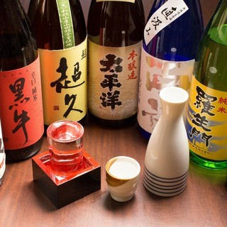 和歌山の地酒、ご用意しております。