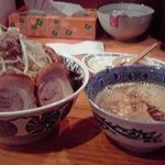 拉麺 亜斗夢 - 豚ましつけ麺
