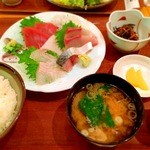 かんころ亭 - お刺身定食