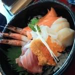 ザ・どん - 料理写真:超豪華盛り合わせ丼