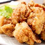 夢本舗 - 自慢の大山鶏の唐揚げです!美味いと評判に?!