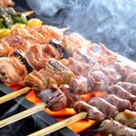 夢本舗 - 大山鶏の串から野菜串まで20種類の串をご用意しております!