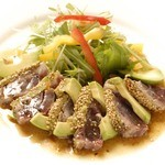 TANGO - マグロとアボカドのソテー ~胡麻とわさび風味~ ¥900