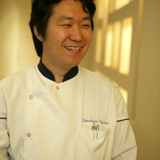 オーナーシェフ小川智寛TomohiroOgawa