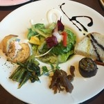 燈屋・伊太利亜食堂 - 前菜5種盛り