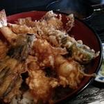 天ぷら なが田 - 天丼