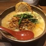 麺場 田所商店 - 信州味噌+炙りチャーシュー1枚