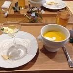 きまんまテーブル - スープとテリーヌ