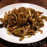 35865684 - ザーサイと豚肉の強火炒め(¥1,120)
