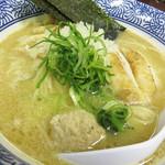 武一 はなれ - ノーマルと濃厚は50円しか違わないので、どうせなら濃厚鶏白湯そば750円。