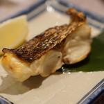 千壽 - Cランチの鯛の塩焼き