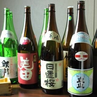 10種類以上の日本酒