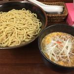 五十番 - 201503 坦々つけ麺大盛り(980円)