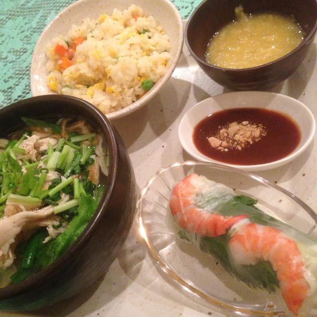 ベトナム料理専門店 サイゴン キムタン - ランチ ¥800