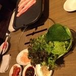 李さんの台所 - サムギョプサル