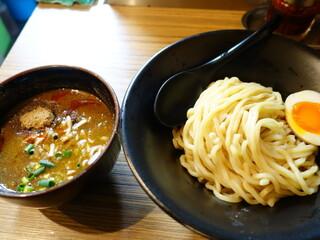 吟醸らーめん 久保田 - 吟醸つけ麺