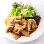 じゅりぃー - 生姜焼き