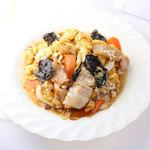 じゅりぃー - 豚肉と玉子きくらげ炒め
