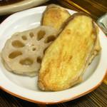 美加久 - 小鉢の天ぷら