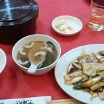 35881655 - キャベツ豚肉の辛みそ炒め(760円)
