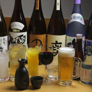 豊富なドリンク!本格焼酎、日本酒、梅酒、カクテルご用意♪