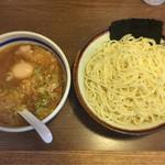 35887811 - つけ麺 中盛(730円)+味玉(無料券利用)