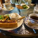 アジカフェ - 料理写真:夜までモーニング