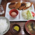 珉来 - 料理写真:MIXフライ定食 550円