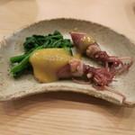 治鮨 - 27年3月 ホタルイカ酢味噌