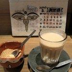 Cafe びすたーれぃ - +¥100でランチドリンク。ホットチャイ