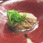 鴨正 - 鴨饅頭(肝入り♪)