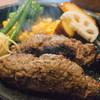 グリル アラベル - 料理写真:黒毛和牛ハンバーグ・テンゴ(210g)