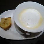 35892688 - サツマイモクリームスープ+シナモンマフィン