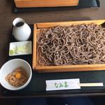 板そば なみ喜 - 板ちゅう 納豆